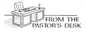 pastors desk image